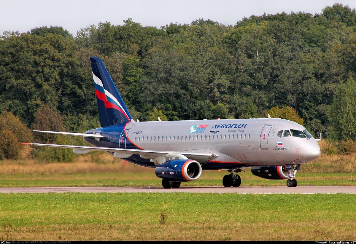 Сервисное обслуживание самолетов SSJ-100 развивается быстрыми темпами