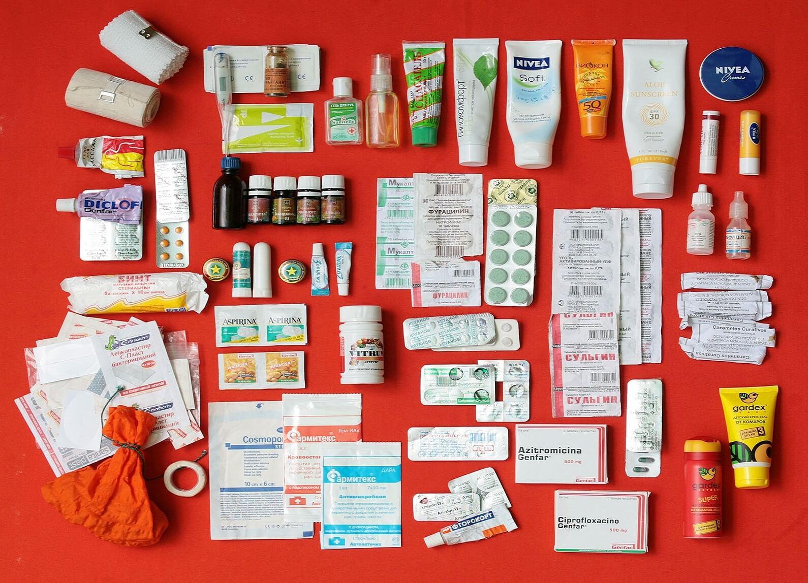 Аптечка для путешественника
